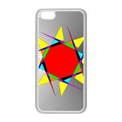 Star Apple Iphone 5c Seamless Case (white) by Siebenhuehner