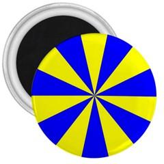 Pattern 3  Button Magnet by Siebenhuehner