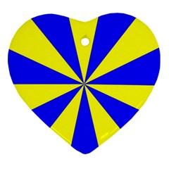 Pattern Heart Ornament by Siebenhuehner