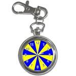 Pattern Key Chain Watch Front