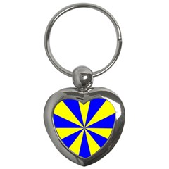 Pattern Key Chain (heart) by Siebenhuehner