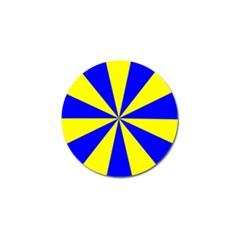 Pattern Golf Ball Marker by Siebenhuehner