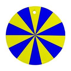 Pattern Round Ornament (two Sides) by Siebenhuehner