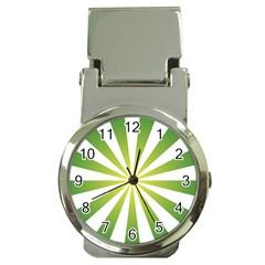 Pattern Money Clip With Watch by Siebenhuehner