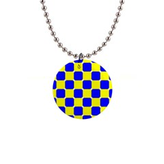 Pattern Button Necklace by Siebenhuehner