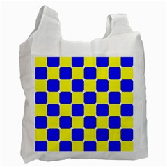 Pattern White Reusable Bag (two Sides) by Siebenhuehner