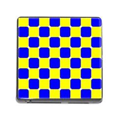 Pattern Memory Card Reader With Storage (square) by Siebenhuehner