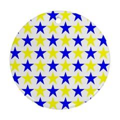 Star Round Ornament by Siebenhuehner