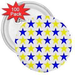 Star 3  Button (100 Pack) by Siebenhuehner