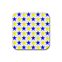 Star Drink Coaster (square) by Siebenhuehner