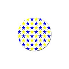 Star Golf Ball Marker 10 Pack by Siebenhuehner