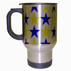 Star Travel Mug (silver Gray) by Siebenhuehner