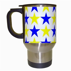Star Travel Mug (white) by Siebenhuehner