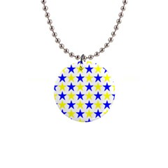 Star Button Necklace by Siebenhuehner