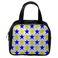 Star Classic Handbag (one Side) by Siebenhuehner