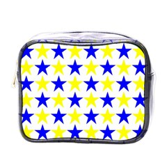 Star Mini Travel Toiletry Bag (one Side) by Siebenhuehner