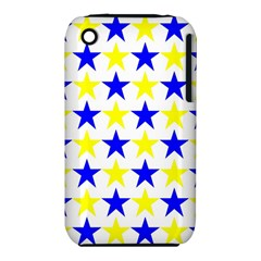 Star Apple Iphone 3g/3gs Hardshell Case (pc+silicone) by Siebenhuehner