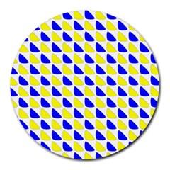 Pattern 8  Mouse Pad (round) by Siebenhuehner