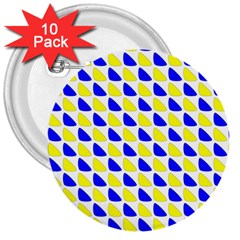 Pattern 3  Button (10 Pack) by Siebenhuehner