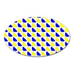 Pattern Magnet (oval) by Siebenhuehner