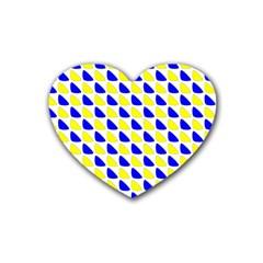 Pattern Drink Coasters 4 Pack (heart)  by Siebenhuehner