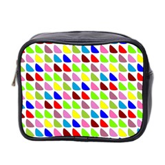 Pattern Mini Travel Toiletry Bag (two Sides) by Siebenhuehner
