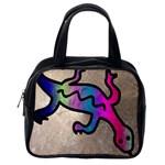 Lizard Classic Handbag (Two Sides) Back