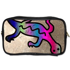 Lizard Travel Toiletry Bag (two Sides) by Siebenhuehner