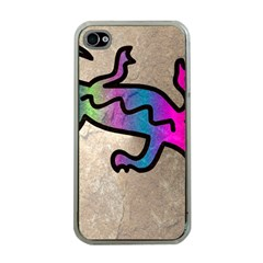 Lizard Apple Iphone 4 Case (clear) by Siebenhuehner