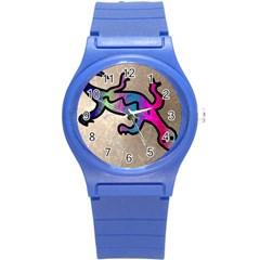 Lizard Plastic Sport Watch (small) by Siebenhuehner