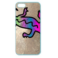 Lizard Apple Seamless Iphone 5 Case (color) by Siebenhuehner
