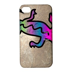 Lizard Apple Iphone 4/4s Hardshell Case With Stand by Siebenhuehner