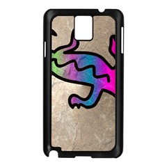 Lizard Samsung Galaxy Note 3 N9005 Case (black) by Siebenhuehner