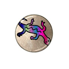 Lizard Golf Ball Marker 4 Pack (for Hat Clip) by Siebenhuehner