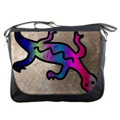 Lizard Messenger Bag by Siebenhuehner