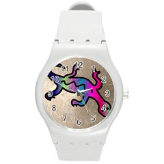 Lizard Plastic Sport Watch (medium) by Siebenhuehner