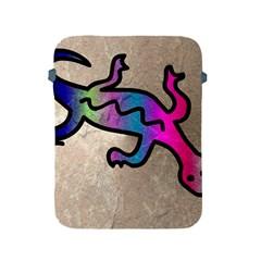 Lizard Apple Ipad Protective Sleeve by Siebenhuehner