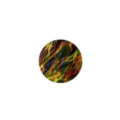 Abstract Smoke 1  Mini Button by StuffOrSomething