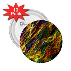 Abstract Smoke 2 25  Button (10 Pack) by StuffOrSomething