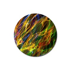 Abstract Smoke Magnet 3  (round) by StuffOrSomething