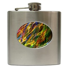 Abstract Smoke Hip Flask by StuffOrSomething
