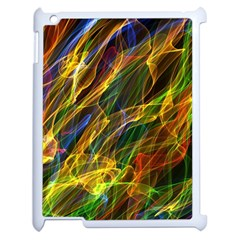 Abstract Smoke Apple Ipad 2 Case (white) by StuffOrSomething