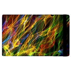 Abstract Smoke Apple Ipad 3/4 Flip Case by StuffOrSomething