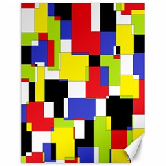Mod Geometric Canvas 12  X 16  (unframed)