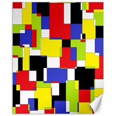 Mod Geometric Canvas 11  X 14  (unframed) by StuffOrSomething