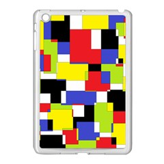 Mod Geometric Apple Ipad Mini Case (white) by StuffOrSomething