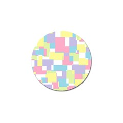 Mod Pastel Geometric Golf Ball Marker 10 Pack by StuffOrSomething