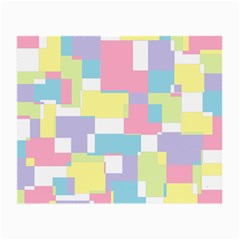 Mod Pastel Geometric Glasses Cloth (small, Two Sided) by StuffOrSomething