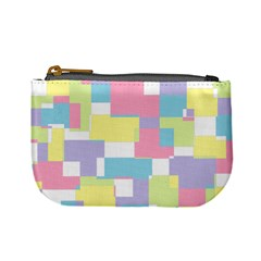 Mod Pastel Geometric Coin Change Purse