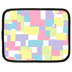 Mod Pastel Geometric Netbook Sleeve (xxl) by StuffOrSomething